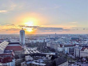 Ansicht von Leipzig