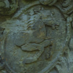 Skulptur an der Wiprechtsburg Groitzsch